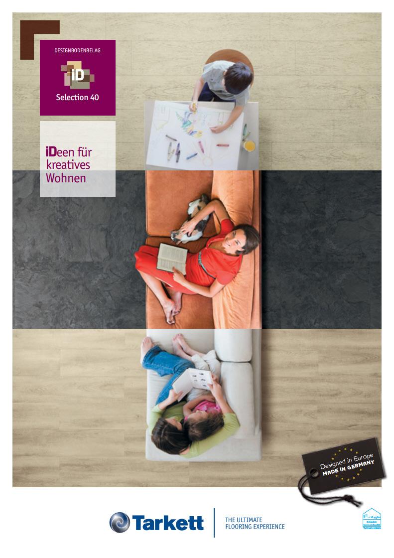 Tarkett Selection iD 40 Katalog Vinylboden Bodenbelag